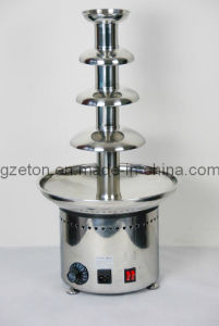 Stainless Steel 4 Tiers Chocolate Fountain pictures & photos