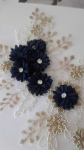 New Garment Accessories Embroidery Flower with Pearl Ym-49 pictures & photos