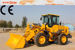 3.5 Ton Hydraulic Front End Loader Er35 with Rops&Fops Cabin pictures & photos