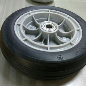 Solid Rubber Wheel PU Wheels pictures & photos