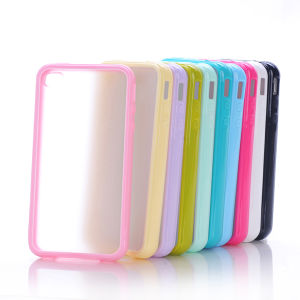 TPU Bumper with PC Matte Cover for iPhone 5/5s pictures & photos
