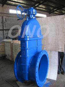 Resilient Seated Soft Seal Flange Gate Valve pictures & photos
