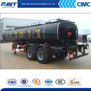 25t Bitumen Tank Semi Trailer/Insulation Tank pictures & photos
