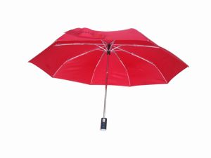 Flashlight Umbrella Windproof Foldable Automatic Umbrella (3FU007) pictures & photos