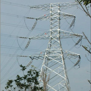 High Quality Steel Power Transmission Tower pictures & photos