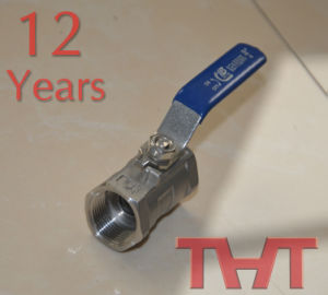 Stainless Steel Ball Valve- Screw Ends Ball Valve pictures & photos
