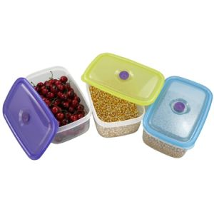 Plastic Fresh Keeping Crisper Refrigeration Storage Box Food Storage Container pictures & photos