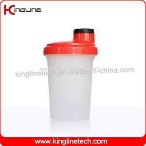 BPA Free, 500ml Plastic Protein Shaker Bottle with Filter (KL-7012D) pictures & photos