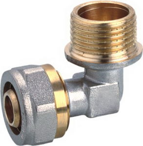 Male Thread Brass Compression Elbow with High Quanlity (YD-6059) pictures & photos