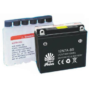 Mf Motorcycle Battery with CE UL Certificate Called 12n7a-BS pictures & photos