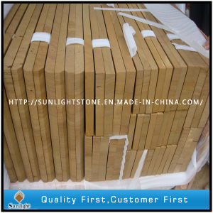 Yellow Sandstone Wall Tile/Flooring Tile/Paving Step pictures & photos