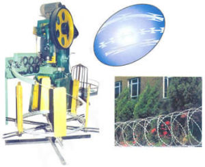 Razor Barbed Wire Machine of High Quality