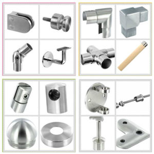 Stainless Steel Handrail Support / 135 Degree Detachable Straight Saddle / Balustrade Fitting / Handrail Bracket pictures & photos