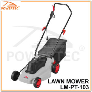 Powertec 1000W Home Use Electric Lawn Mower (LM-PT103) pictures & photos