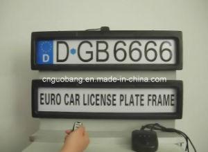 GB666 Car Plate Frame
