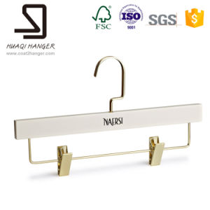 Eisho White Wooden Pants Hanger, Trousers Rack Pants Hanger, Jeans Hanger pictures & photos