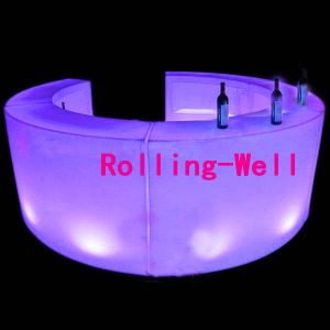 LED Glowing Bar Table for Bar or Party with CE, RoHS