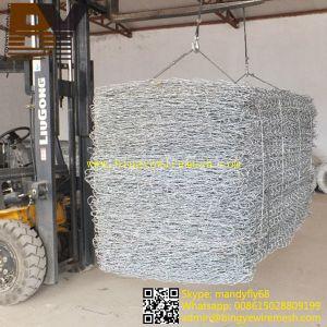 Stone Basket Hexagonal Wire Netting Gabion pictures & photos