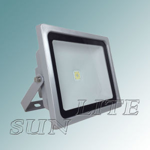 60W Internal Mircowave Sensor / Round Plastic Reflector Flood Light (Imported Sharp Chip)