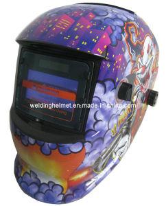 98*60mm/En175/En379 /Cr2032 Replaceable Battery Welding Helmet (E1190TF) pictures & photos