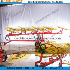 New Type Trailed Finger Wheel Rake for Tractor 2017 Hot Sale pictures & photos
