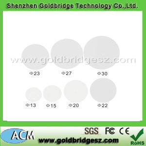ISO14443A Standard 13.56MHz Waterproof RFID Disc PVC Tag and Sticker