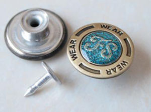 Rhinstone Jeans Buttons B286 pictures & photos