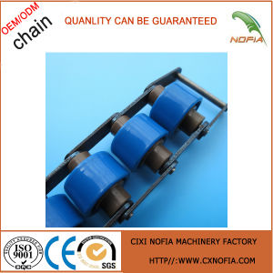 Double Pitch Diamond Plastic Roller Chain pictures & photos
