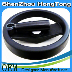 Strong Solid Aluminum Alloy Handwheel with Folding Handle pictures & photos