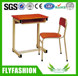 Simle School Classroom Furniture Student Single Desk and Chair (SF-07S) pictures & photos