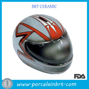 Motorcycle Helmets Ceramic Large Piggy Bank pictures & photos