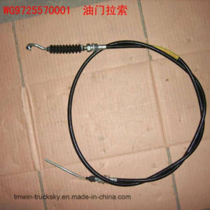 Sinotruck HOWO Spare Parts Throttle Cable (WG9725570001) pictures & photos