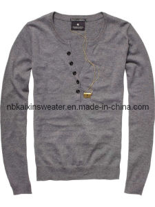 Men′s Fashion Sweater (KX-W44)