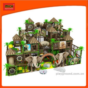 Mich Elephant Theme Indoor Soft Playground for Canada pictures & photos