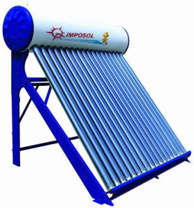 OEM China Non-Pressurized Solar Water Heater with CE pictures & photos