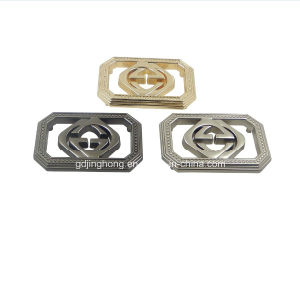 Custom Zinc Alloy Diecasting Different Colors Metal Plate for Garments pictures & photos