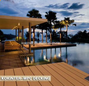 Wear-Resistant Co-Extrusion WPC Terrace Decking WPC Flooring WPC Shuttering WPC Post pictures & photos