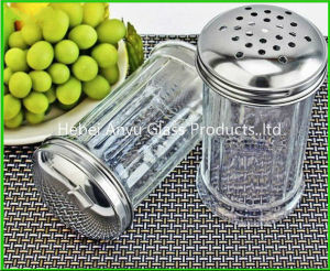 Factory Wholesale 80 Ml Glass Condiment Spice Bottle BBQ Pepper Salt Glass Bottle pictures & photos