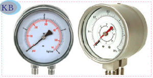 Best Quality Differential & Duplex Pressure Gauge pictures & photos