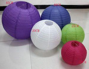 Wedding Decoration Colorful Chinese Paper Lantern