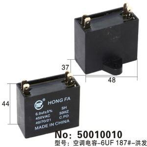 Air Conditioner Capacitor (50010010) pictures & photos