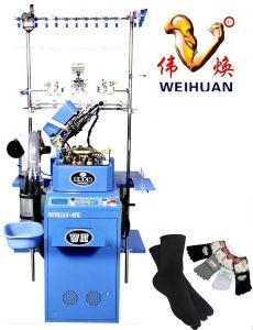 Weihuan (WH) Computeried Plain Socks Knitting Machine for Man Socks, Wh-6f-R pictures & photos