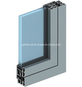 55jh Thermal Insulation Aluminum Alloy Profile for Windows