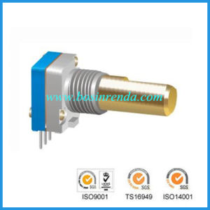 8mm Incremental Encoder with Swith for Radio Interphone Audio Equipment pictures & photos