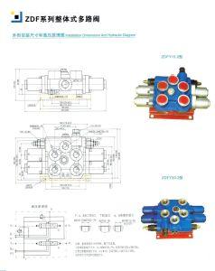 ZDF15.2-2 Hydraulic Monoblock Valve 2 Spools Relief Valve Types Manufacturer pictures & photos