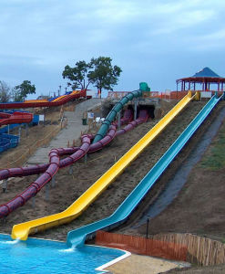 Water Park Equipment Hillside for Children