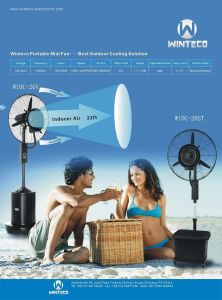 Chinese Mist Fan Manufacturer pictures & photos