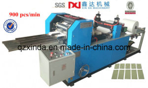 Placket Tissue Folding & Packing Processing Machine pictures & photos