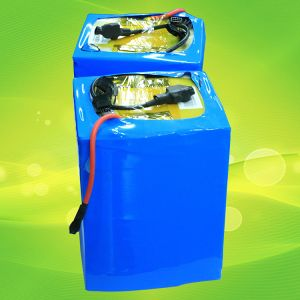 Lithium Rechargeable LiFePO4 Battery Pack 24V 100ah 200ah with BMS pictures & photos