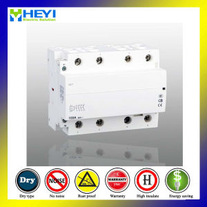 Household Contactor Relay 100A 4p 240V 50Hz 2no 2nc Electrical Type pictures & photos